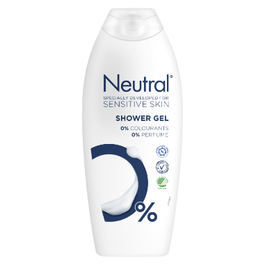 Neutral dusjsåpe 0% 750 ML